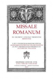 1920 Typical Edition of the Roman Missal