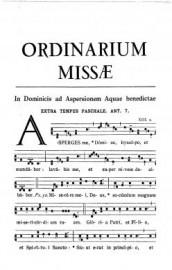 1961 Ordinarium Missae