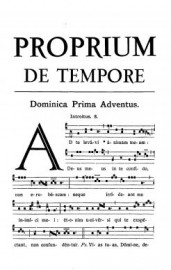 1961 Proprium de Tempore
