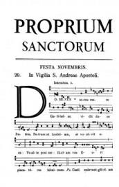 1961 Proprium Sanctorum
